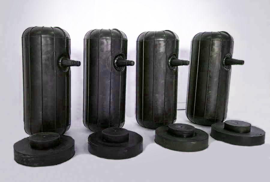 Комплект пневмобаллонов для установки в свободные пружины Нивы Шевроле