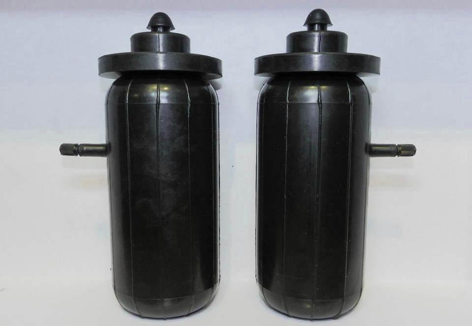 Комплект пневмобаллонов для установки в свободные пружины автомобиля